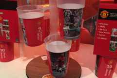 Stack-Cup Manchester United FC sullo Stand